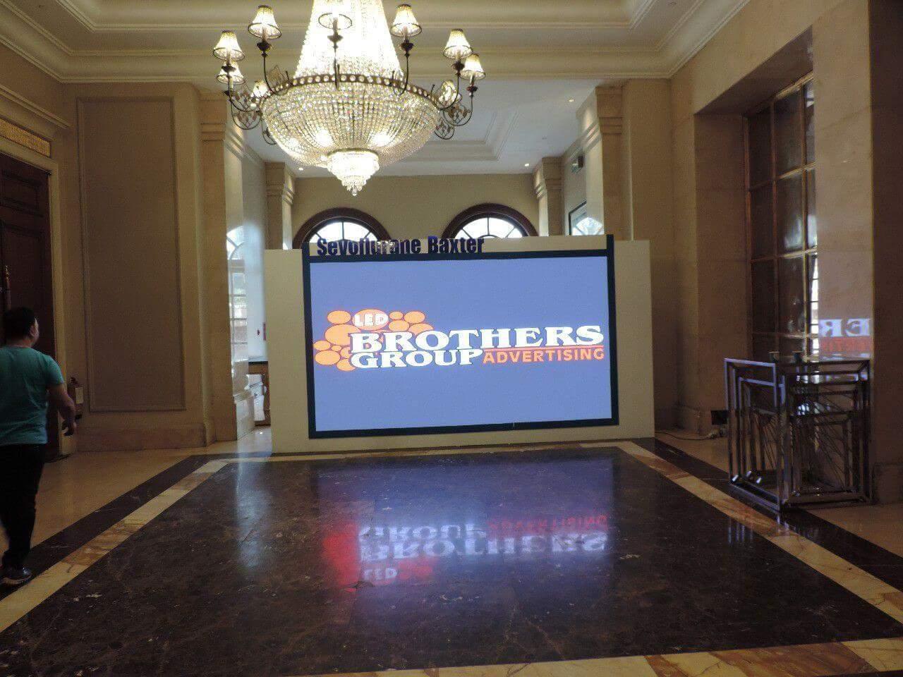 شاشات عرض الفنادق الليد