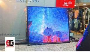 شاشات ليد دعائية