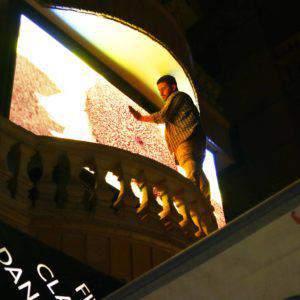 أنواع شاشات عرض ليد سكرين - شاشات led الداخلية والخارجية